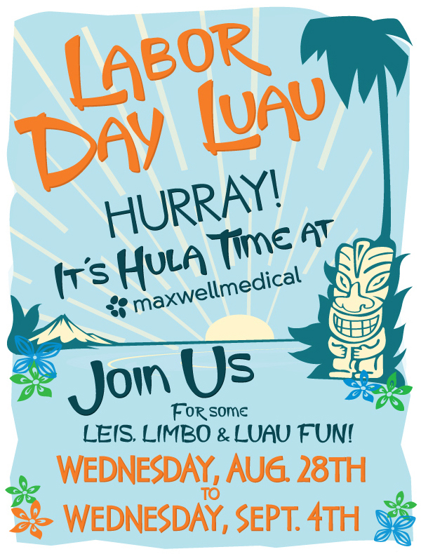 Aloha From MaxWell Medical
